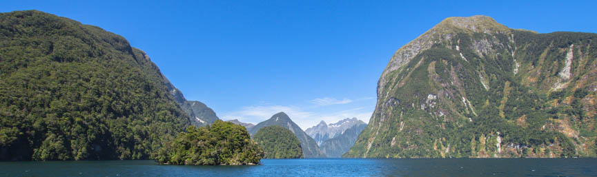 Fiord Doubtful Sound, Fiordland, New Zealand