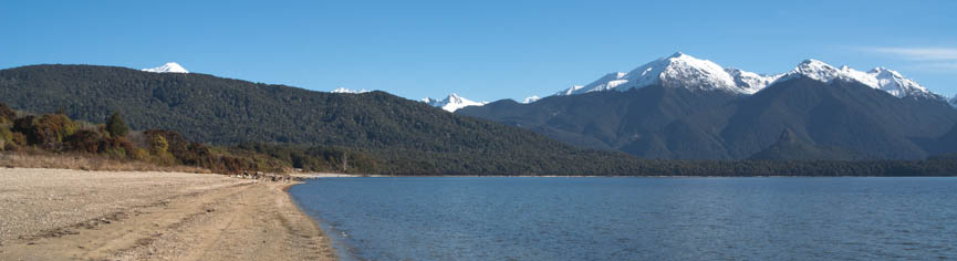 Lake Manapouri - Frasers Beach, Fiordland, New Zealand