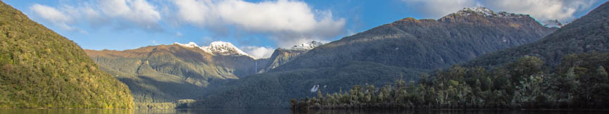 Lake Te Anau, South Fiord, Fiordland, Murchison and Kepler Mountains