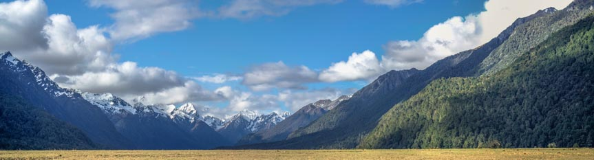 Milford Road - Eglington Valley, Fiordland