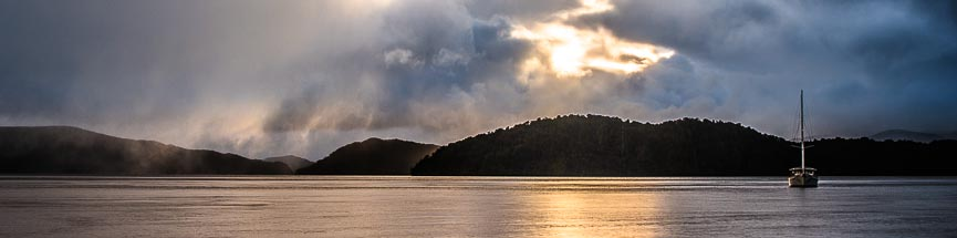 Preservation Inlet, Fiordland, southern fjords cruise