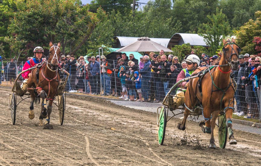 Te Anau Harness Street Races